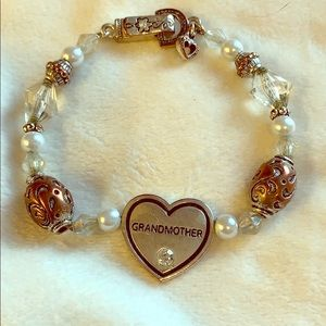 Silver & Beaded Grandmother Bracelet